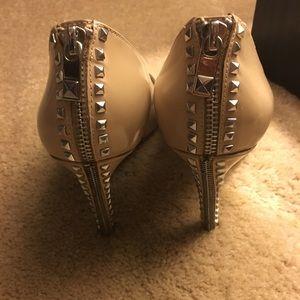 Michael Kors studded zipper heels 👠 pumps